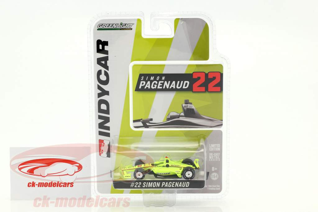 Simon Pagenaud Chevrolet #22 IndyCar Series 2018 Team Penske (Menards) 1:64 Greenlight