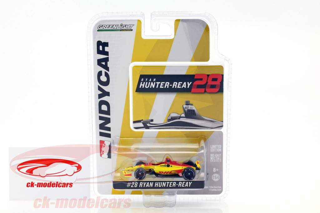 Ryan Hunter-Reay Honda #28 IndyCar Series 2018 Andretti Autosport 1:64 Greenlight