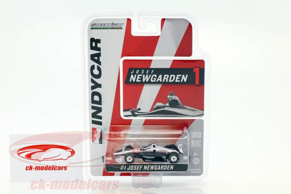 Josef Newgarden Chevrolet #1 IndyCar Series 2018 Team Penske (Hitachi) 1:64 Greenlight