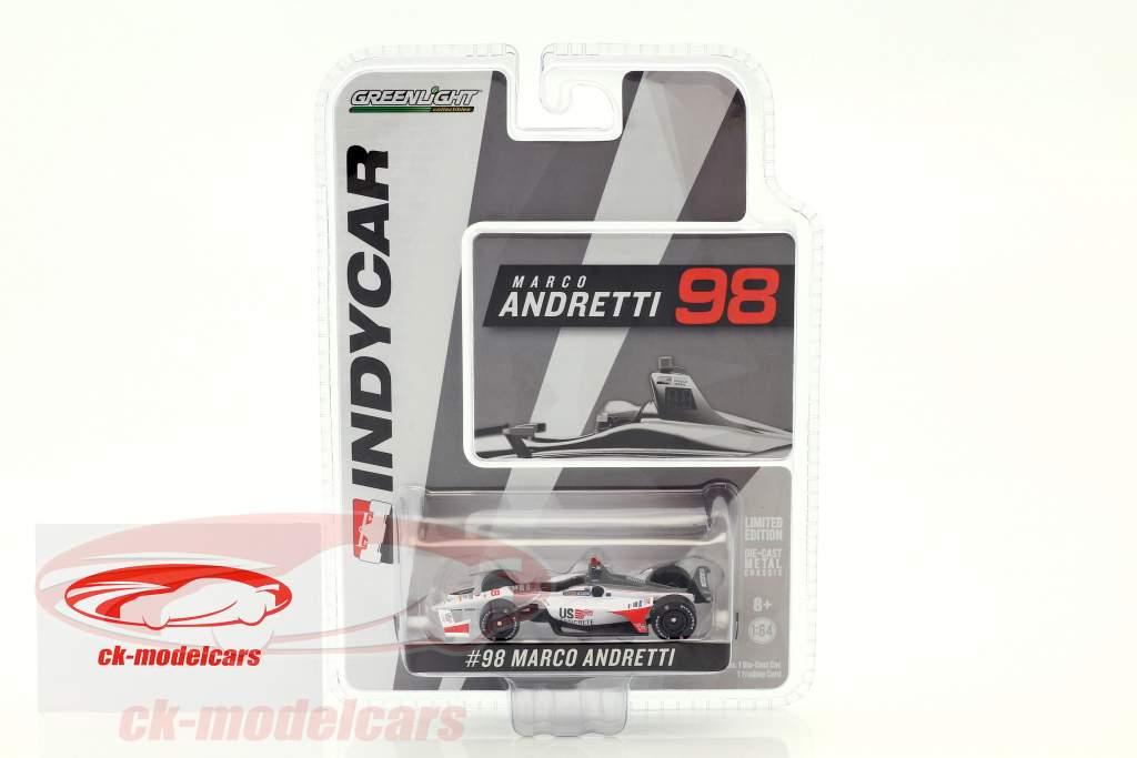 Marco Andretti Honda #98 IndyCar Series 2018 Andretti Herta Autosport 1:64 Greenlight