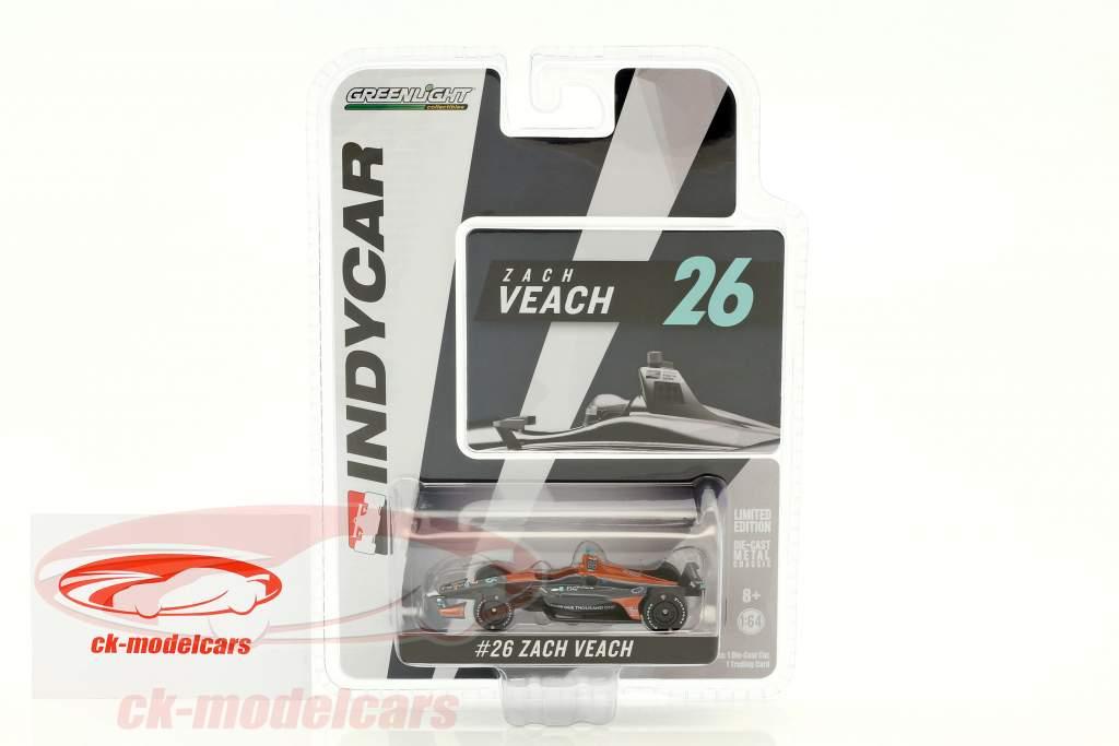 Zach Veach Honda #26 IndyCar Series 2018 Andretti Autosport (Delaware Life) 1:64 Greenlight
