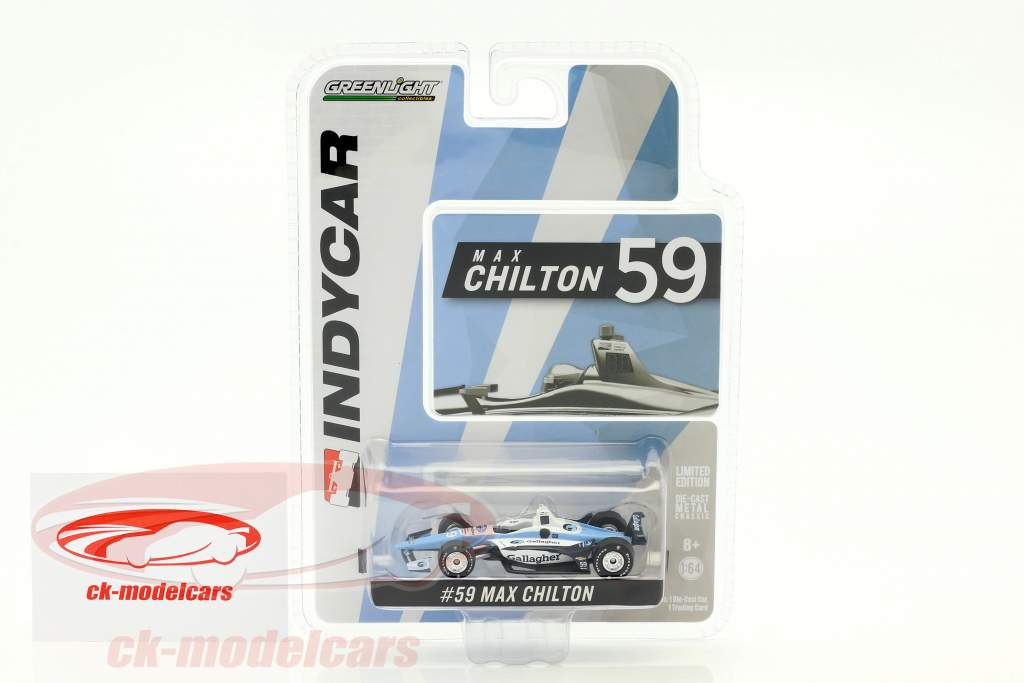Max Chilton Chevrolet #59 IndyCar Series 2018 Carlin 1:64 Greenlight