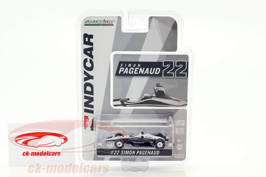 Simon Pagenaud Chevrolet #22 IndyCar Series 2018 Team Penske (DKC Technology) 1:64 Greenlight