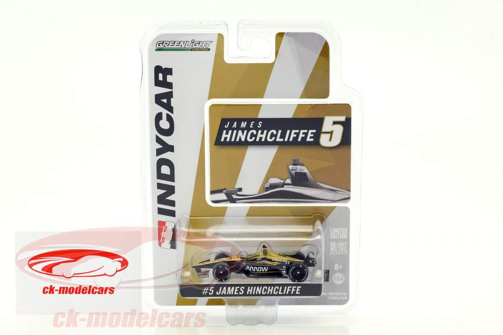 James Hinchcliffe Honda #5 IndyCar Series 2018 Schmidt Peterson Motorsports 1:64 Greenlight