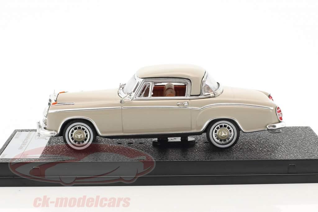 Mercedes-Benz 220 SE Coupe Baujahr 1959 creme 1:43 Vitesse