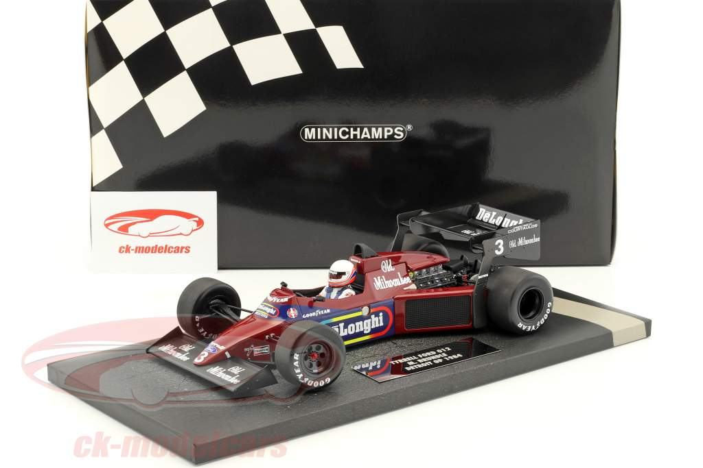 Martin Brundle Tyrrell 012 #3 Detroit GP formula 1 1984 1:18 Minichamps