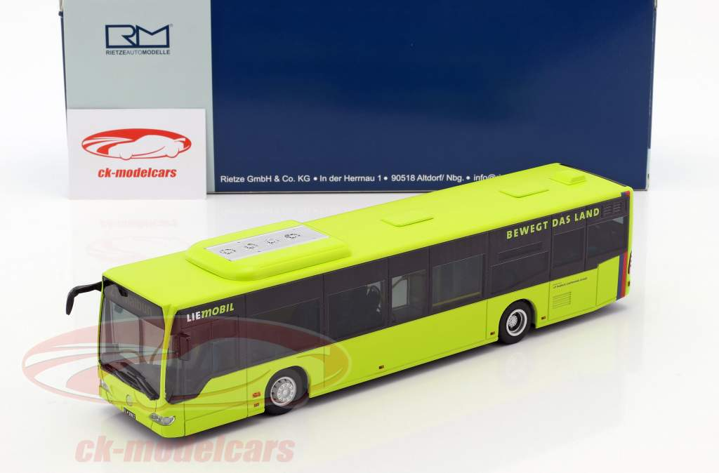 Mercedes-Benz Citaro LIEmobil bus Liechtenstein chaux 1:43 Rietze