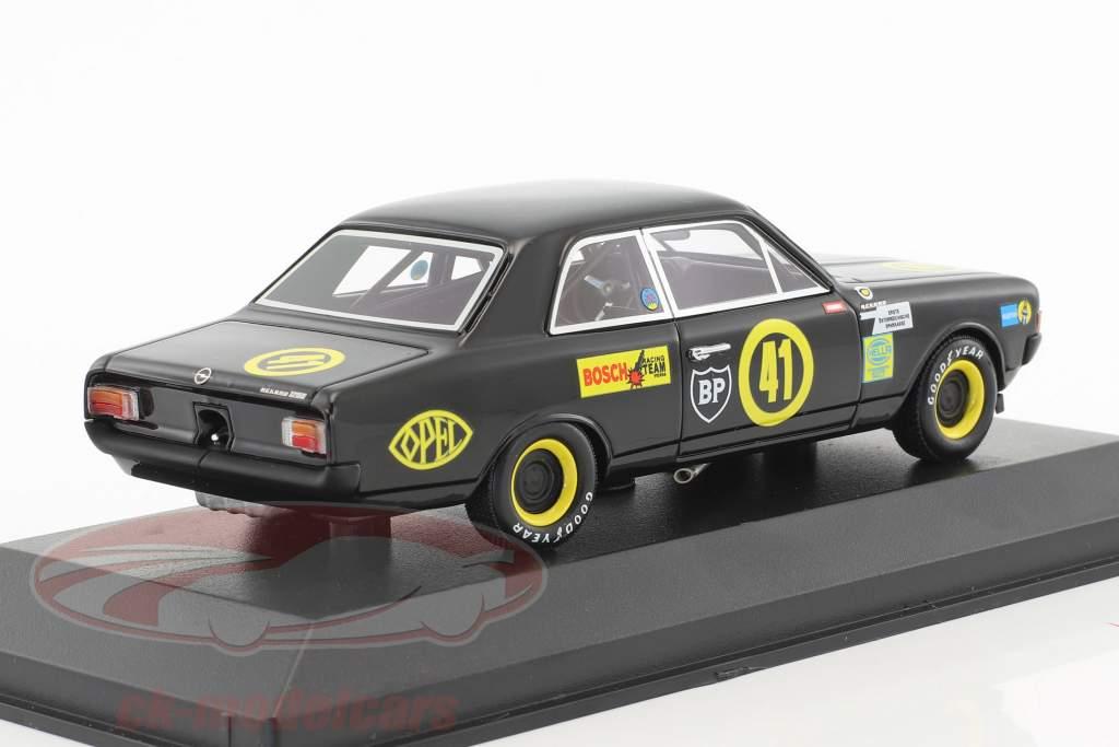 Opel Rekord 1900 Schwarze Witwe #41 Tulln-Langenlebarn 1969 Lauda 1:43 Minichamps