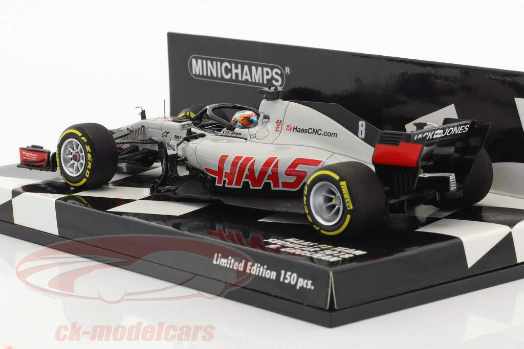 Romain Grosjean Haas VF-18 #8 showcar formula 1 2018 1:43 Minichamps