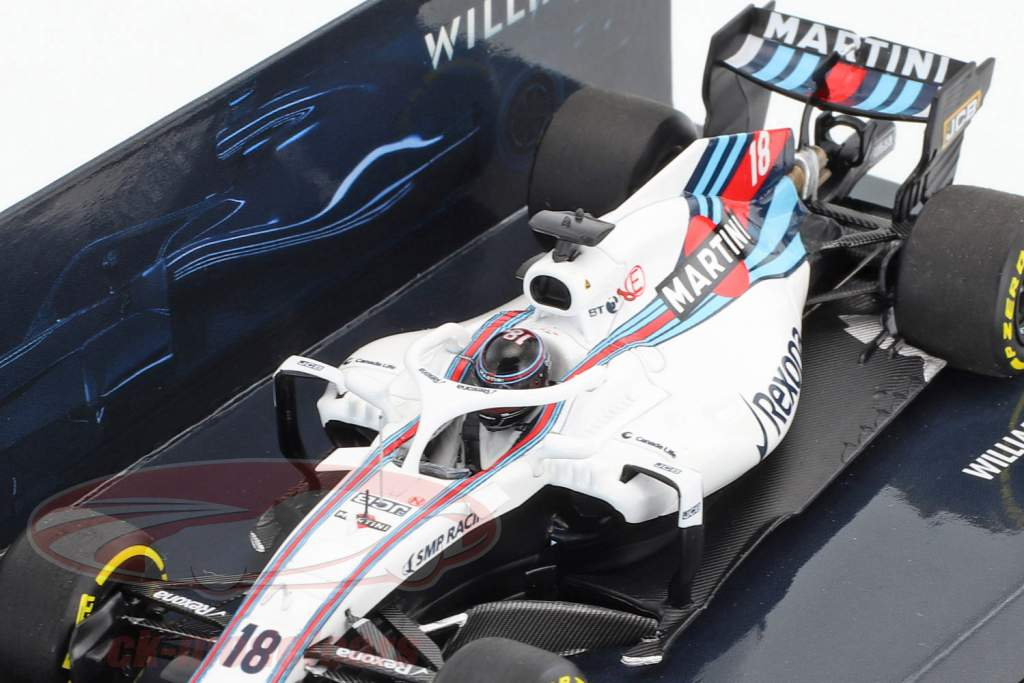 Lance Stroll Williams FW41 #18 showcar formula 1 2018 1:43 Minichamps