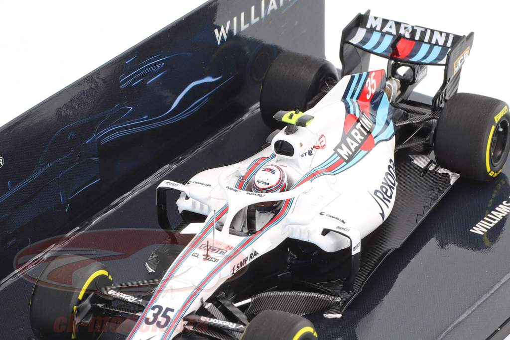 Sergei Sirotkin Williams FW41 #35 showcar formule 1 2018 1:43 Minichamps