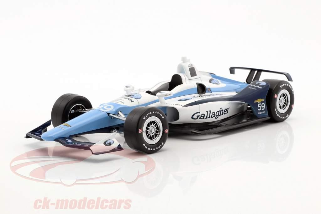 Max Chilton Chevrolet #59 IndyCar Series 2018 Carlin 1:18 Greenlight