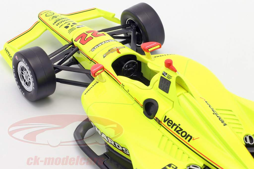 Simon Pagenaud Chevrolet #22 IndyCar Series 2018 Team Penske 1:18 Greenlight