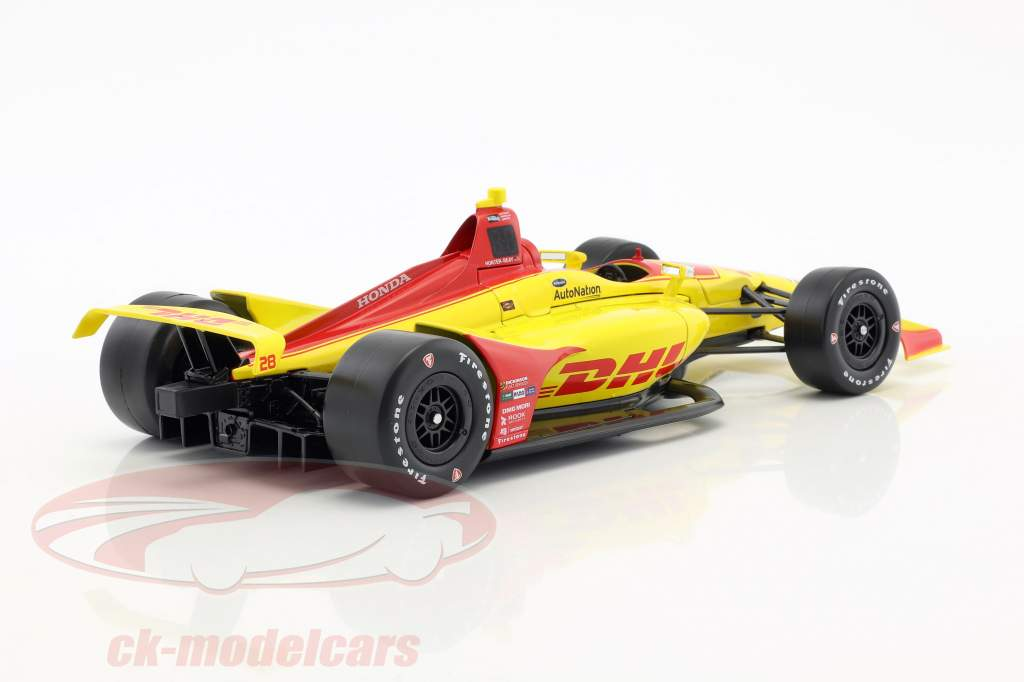 Ryan Hunter-Reay Honda #28 IndyCar Series 2018 Andretti Autosport 1:18 Greenlight