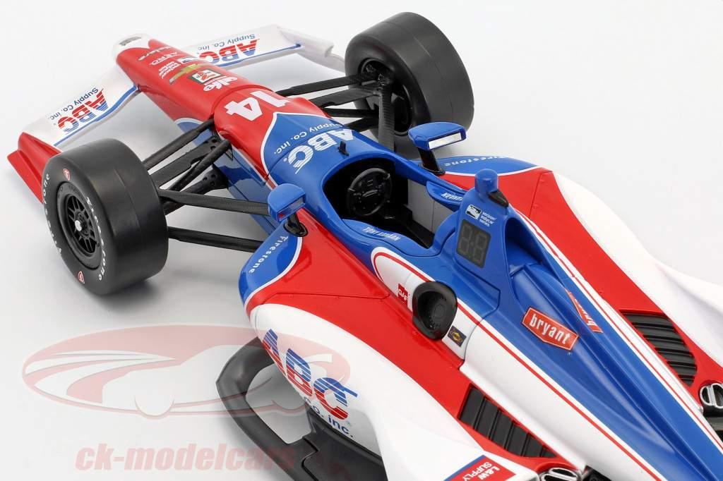 Tony Kanaan Chevrolet #14 IndyCar Series 2018 A. J. Foyt Enterprises 1:18 Greenlight