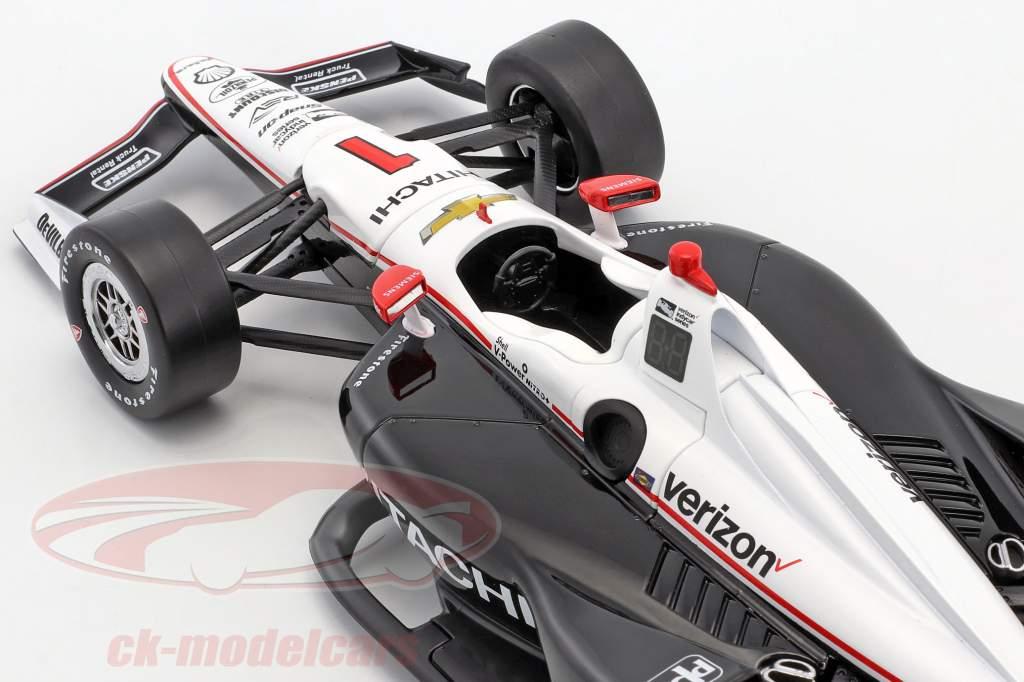 Josef Newgarden Chevrolet #1 IndyCar Series 2018 Team Penske (Hitachi) 1:18 Greenlight