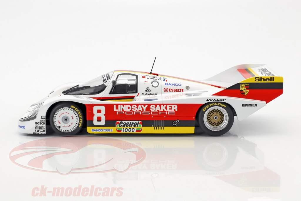 Porsche 956K #8 1000km Kyalami 1983 Wollek, Serra, Johansson 1:18 Minichamps