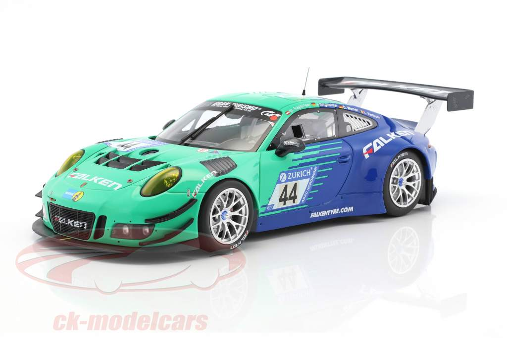2-Car Set BMW M6 GT3 #33 & Porsche 911 GT3R #44 Nürburgring 2017 1:18 Minichamps