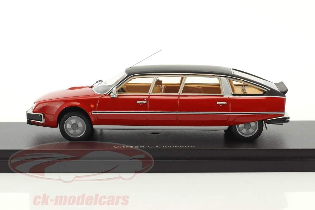 Citroen CX Nilsson rouge / noir 1:43 BoS-Models