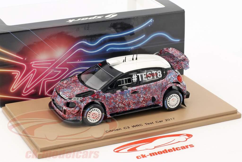 Citroen C3 WRC test voiture 2017 1:43 Spark