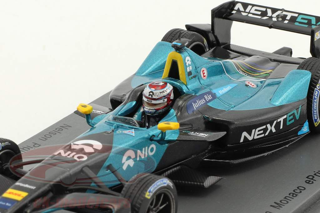 Nelson Piquet jr. NextEV 700R #3 Monaco ePrix Formel E 2016/2017 1:43 Spark