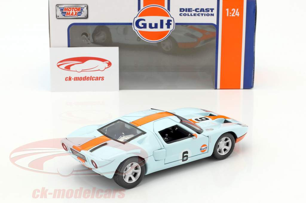 Ford GT Concept #6 année de construction 2004 golfe bleu / orange 1:24 MotorMax