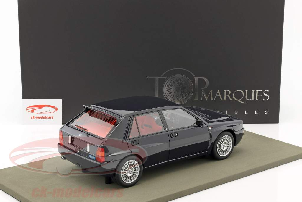 Lancia Delta Integrale Evolution Club Italia year 1992 dark blue 1:12 TopMarques