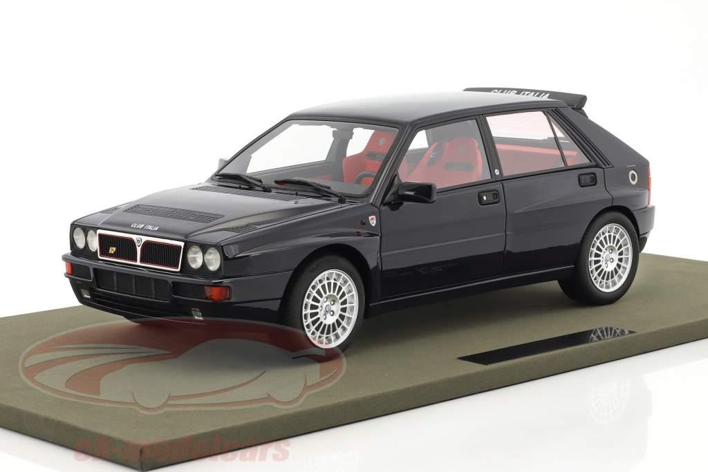 Lancia Delta Integrale Evolution Club Italia année de construction 1992 sombre bleu 1:12 TopMarques