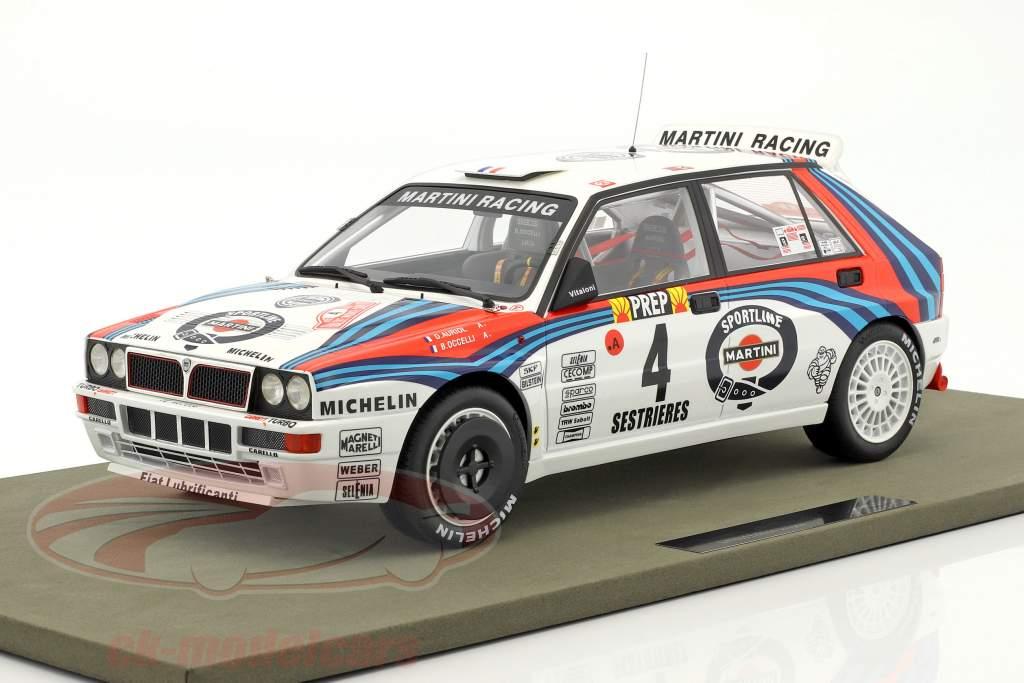Lancia Delta HF Integrale #4 gagnant Rallye Monte Carlo 1992 Auriol, Occelli 1.12 TopMarques