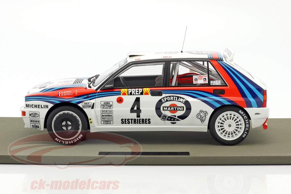 Lancia Delta HF Integrale #4 vincitore Rallye Monte Carlo 1992 Auriol, Occelli 1.12 TopMarques