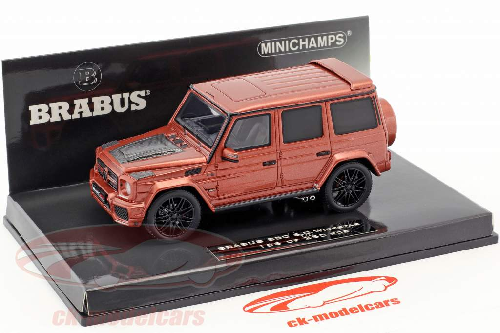 Brabus 850 6.0 Biturbo Widestar year 2016 copper metallic 1:43 Minichamps