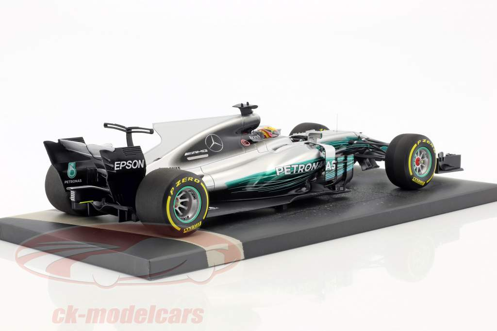 L. Hamilton Mercedes F1 W08 EQ Power  #44 winner Chinese GP World Champion Formel 1 2017 1:18 Minichamps