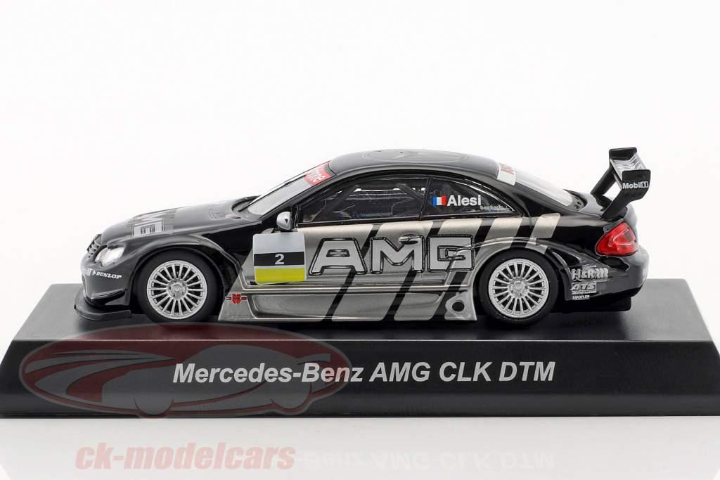 Mercedes Benz AMG CLK #2 DTM 2002 Jean Alesi 1:64 Kyosho
