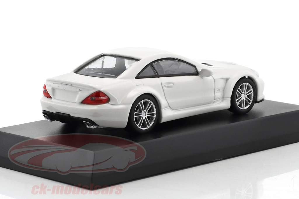 Mercedes-Benz SL 65 Black Series White 1:64 Kyosho