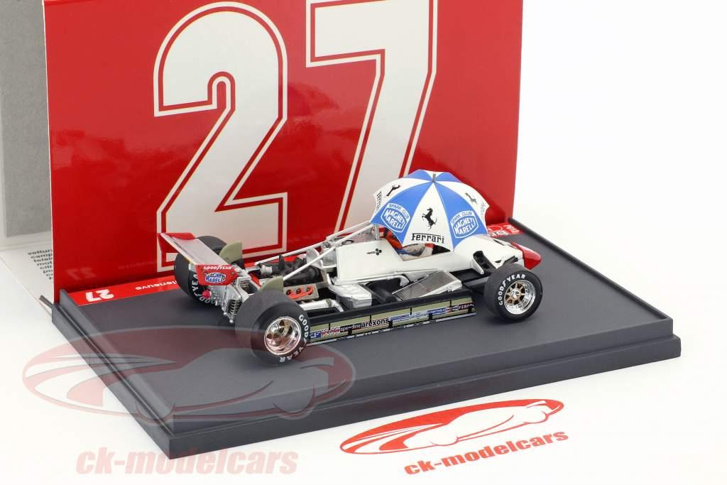 Gilles Villeneuve Ferrari 126C2 #27 2nd San Marino GP formula 1 1982 1:43 Brumm
