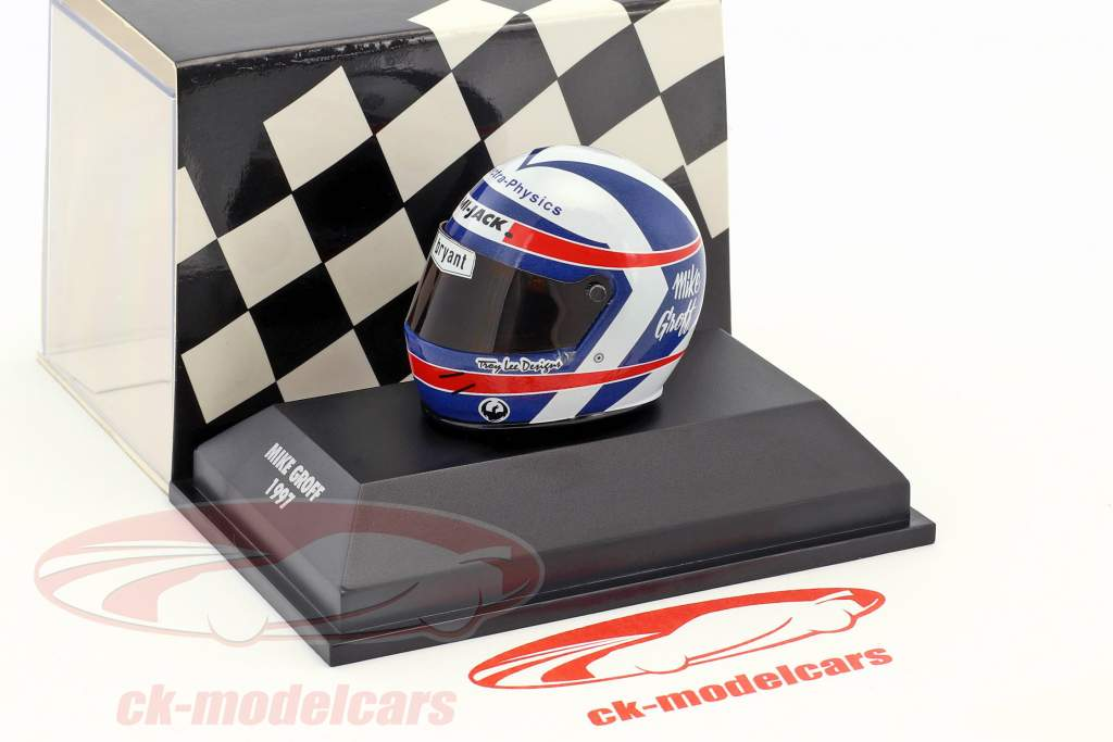Mike Groff Indy Racing League 1997 Byrd-Cunningham Racing helmet 1:8 Minichamps