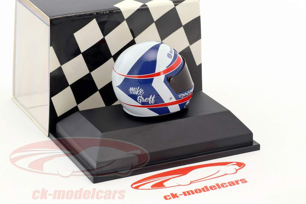 Mike Groff Indy Racing League 1997 Byrd-Cunningham Racing casque 1:8 Minichamps