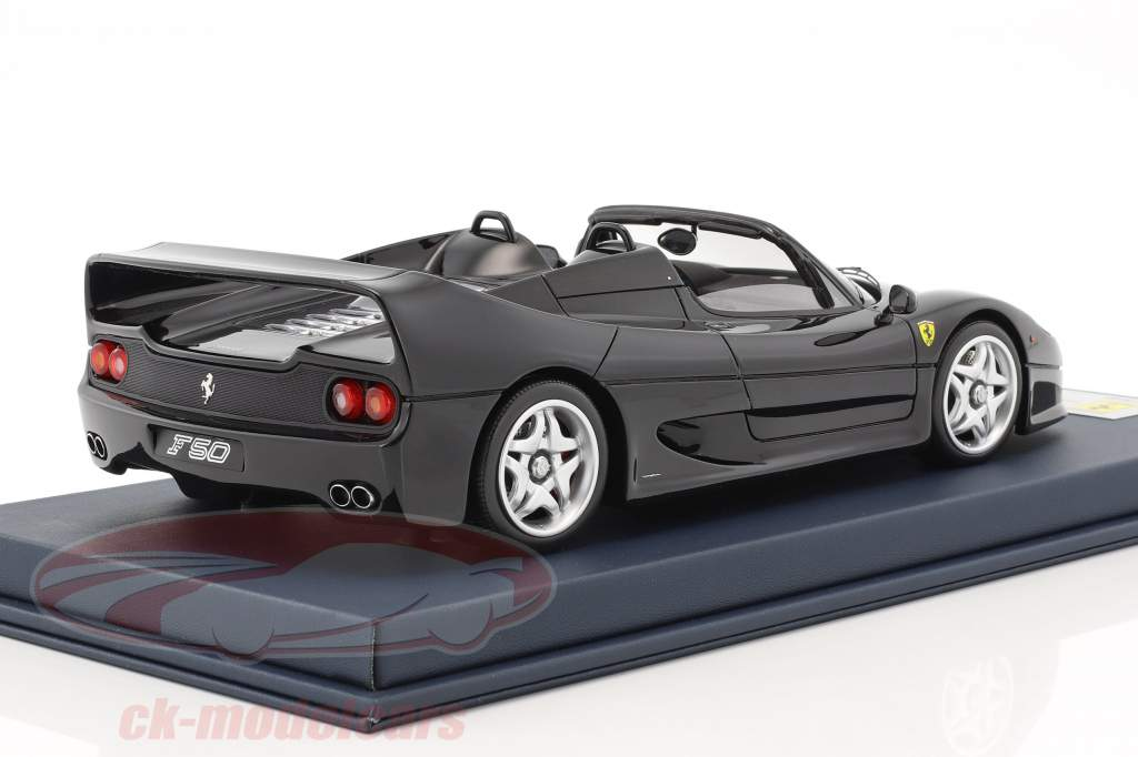 Ferrari F50 Spider black With Showcase 1:18 LookSmart