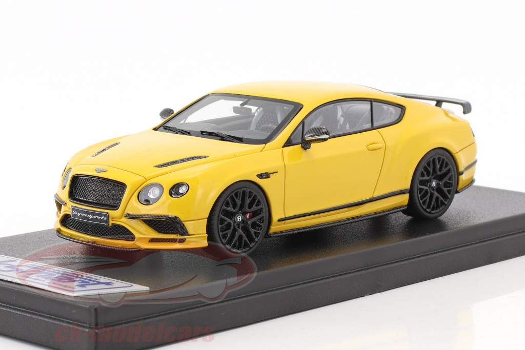 Bentley Continental Supersports year 2017 monaco yellow 1:43 LookSmart