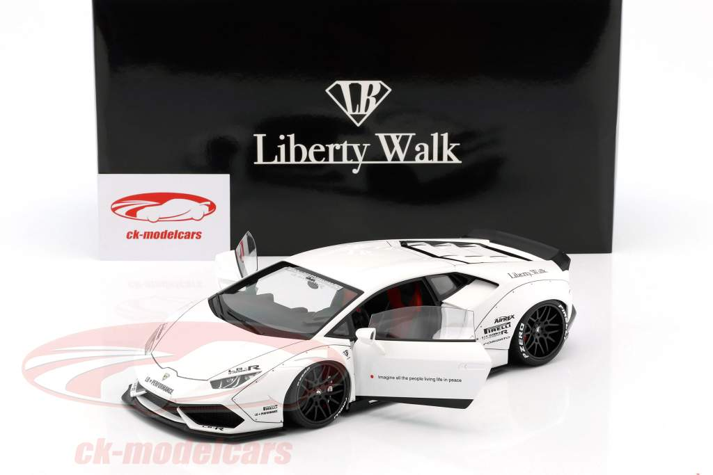 Lamborghini Huracan Liberty Walk LB-Works weiß 1:18 AUTOart