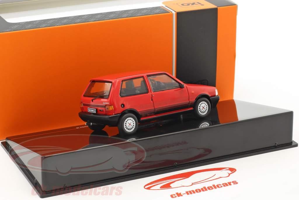 Fiat Uno Turbo IE année de construction 1984 rouge 1:43 Ixo
