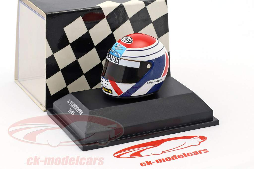 Jos Verstappen Simtek S951 formula 1 1995 casco 1:8 Minichamps