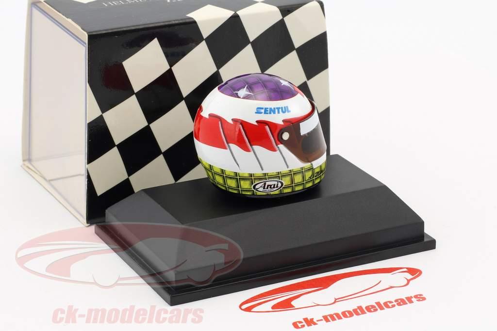 Ananda Mikola Formel 3 Italien 1997 Helm 1:8 Minichamps
