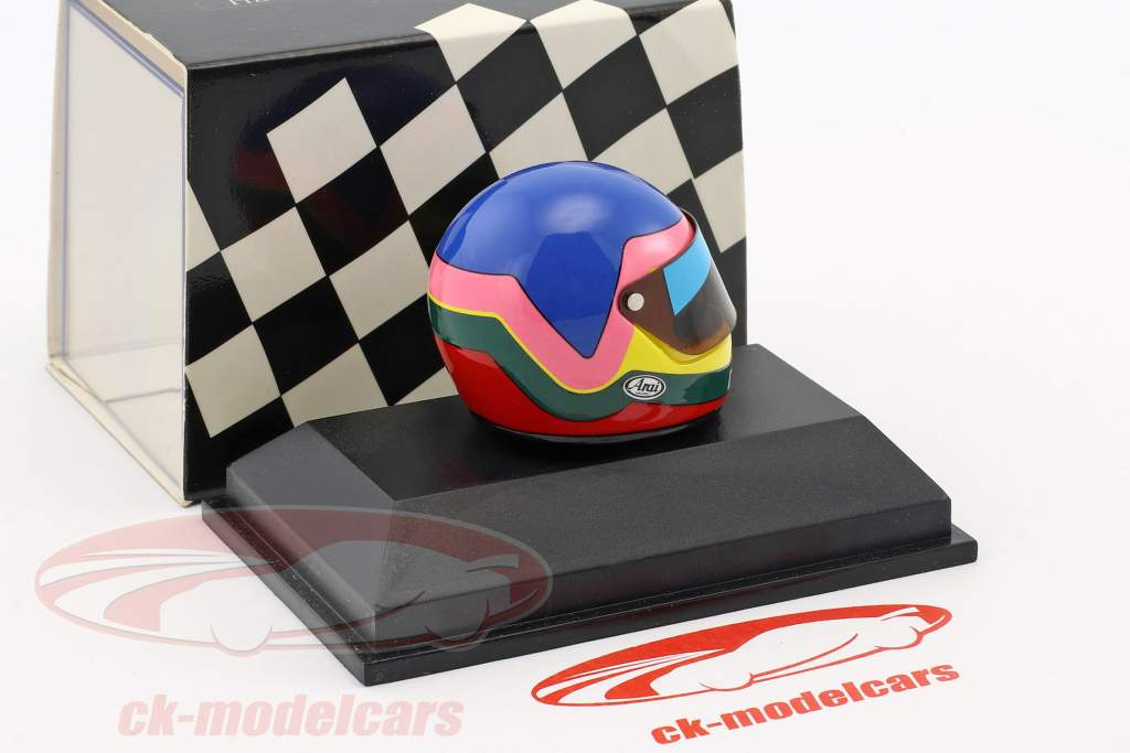 Jacques Villeneuve World Champion formula 1 1997 helmet 1:8 Minichamps