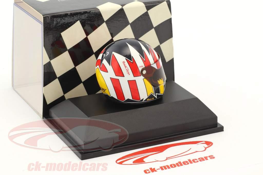 Alexander Wurz ITC 1996 Joest Racing Opel casque 1:8 Minichamps