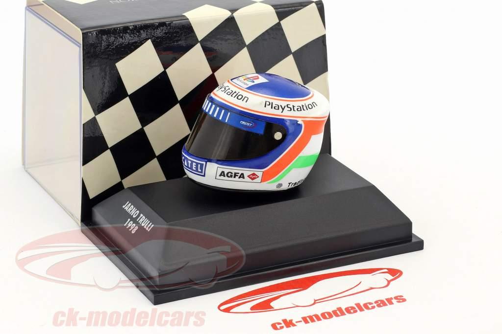 Jarno Trulli Formel 1 1998 Helm 1:8 Minichamps