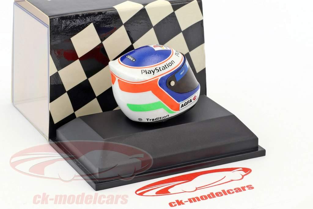 Jarno Trulli formula 1 1998 helmet 1:8 Minichamps