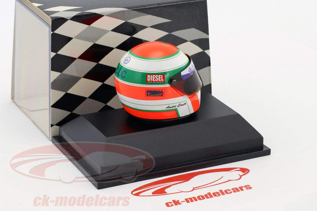 Andre Couto formule Opel Euroseries 1995 casque 1:8 Minichamps