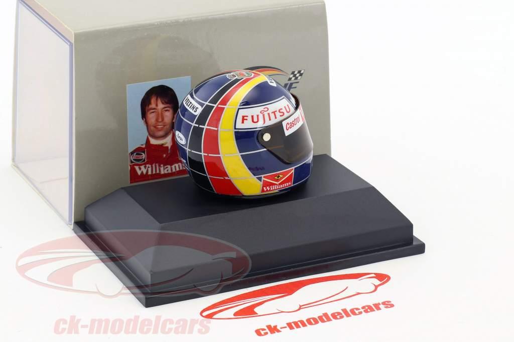 Heinz-Harald Frentzen Williams FW20 formula 1 1998 helmet 1:8 Minichamps