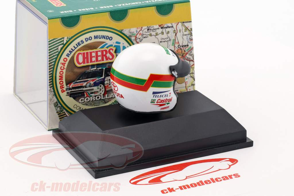 Pedro Matos Chaves Helm 1:8 Minichamps